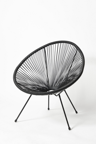 Кресло RC-194-1 черное