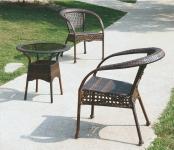 Комплект садовой мебели (стул RC16\стол RT 206) Бежевый