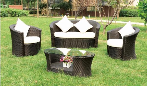 Комплект садовой мебели Малибу (диван, 2 кресла RS 16/стол RD16)
