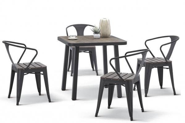 Комплект садовой мебели (стул PC 630\стол PT-846-1)
