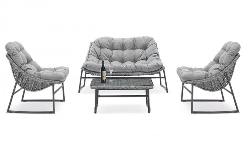 Комплект садовой мебели Ницца  (диван. 2 кресла RS 56\стол RD56)