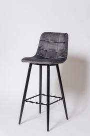 Барный стул UDC 8078  графит вельвет